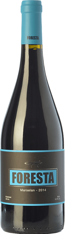 24,95 € Free Shipping | Red wine Vins de Foresta Crianza Spain Marcelan Bottle 75 cl