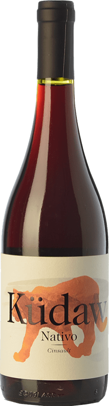 8,95 € Free Shipping | Red wine Vintae Chile Küdaw Nativo Joven I.G. Valle del Itata Itata Valley Chile Cinsault Bottle 75 cl