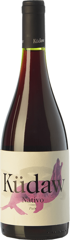 13,95 € Free Shipping | Red wine Vintae Chile Küdaw Nativo Crianza I.G. Valle del Maule Maule Valley Chile Tempranillo Bottle 75 cl