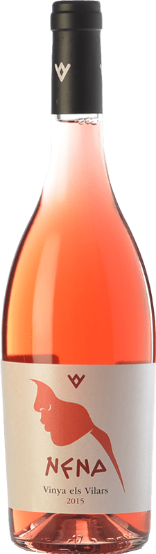 13,95 € Free Shipping | Rosé wine Els Vilars Nena Rosat D.O. Costers del Segre Catalonia Spain Syrah Bottle 75 cl