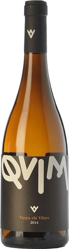 13,95 € Free Shipping | White wine Els Vilars Quim Blanc D.O. Costers del Segre Catalonia Spain Muscatel, Macabeo Bottle 75 cl