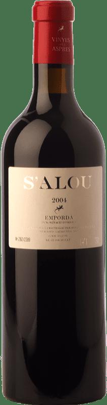 35,95 € Free Shipping | Red wine Aspres S'Alou Crianza D.O. Empordà Catalonia Spain Syrah, Grenache, Cabernet Sauvignon, Carignan Bottle 75 cl