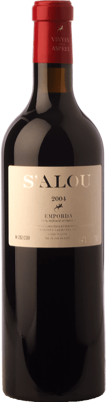 35,95 € Envoi gratuit | Vin rouge Aspres S'Alou Crianza D.O. Empordà Catalogne Espagne Syrah, Grenache, Cabernet Sauvignon, Carignan Bouteille 75 cl