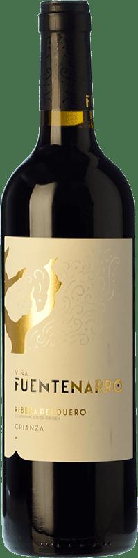 14,95 € Free Shipping   Red wine Viña Fuentenarro Crianza D.O. Ribera del Duero Castilla y León Spain Tempranillo Bottle 75 cl