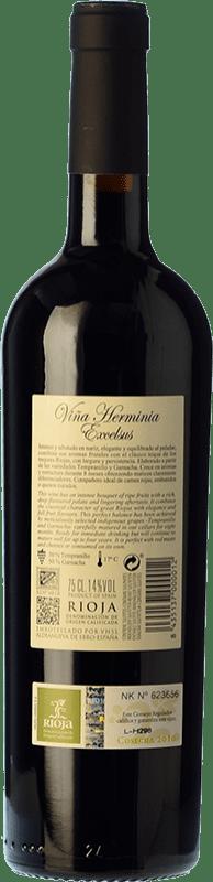 7,95 € Free Shipping   Red wine Viña Herminia Excelsus Joven D.O.Ca. Rioja The Rioja Spain Tempranillo, Grenache Bottle 75 cl