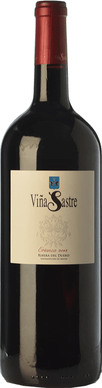 44,95 € Free Shipping | Red wine Viña Sastre Crianza D.O. Ribera del Duero Castilla y León Spain Tempranillo Magnum Bottle 1,5 L