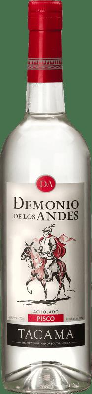 21,95 € 免费送货 | Pisco Viña Tacama Acholado Demonio de los Andes 秘鲁 瓶子 70 cl