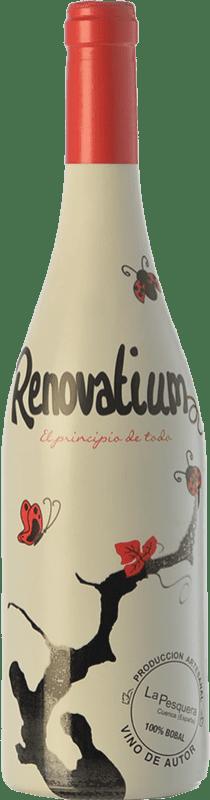 6,95 € Free Shipping | Red wine Viñas del Cabriel Renovatium Crianza I.G.P. Vino de la Tierra de Castilla Castilla la Mancha Spain Tempranillo, Syrah Bottle 75 cl