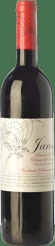 18,95 € | Red wine Viñas del Jaro Jaros Reserva D.O. Ribera del Duero Castilla y León Spain Tempranillo Bottle 75 cl
