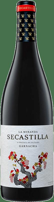 12,95 € Envío gratis | Vino tinto Viñas del Vero La Miranda de Secastilla Joven D.O. Somontano Aragón España Syrah, Garnacha, Parraleta Botella 75 cl