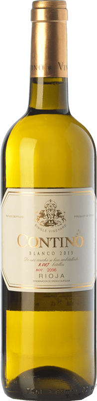 32,95 € | White wine Viñedos del Contino Crianza D.O.Ca. Rioja The Rioja Spain Viura, Malvasía, Grenache White Bottle 75 cl