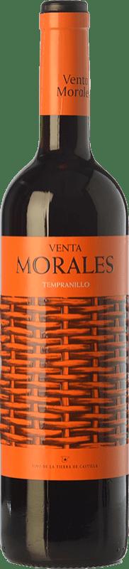 6,95 € Envío gratis | Vino tinto Volver Venta Morales Joven D.O. La Mancha Castilla la Mancha España Tempranillo Botella 75 cl