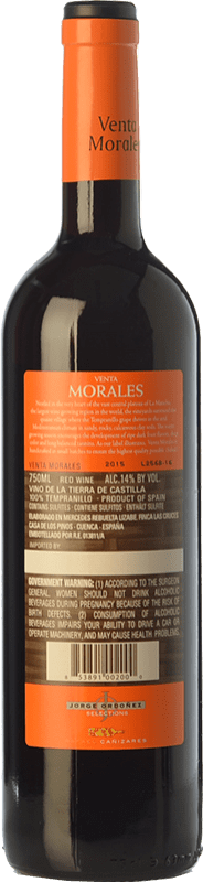 6,95 € Free Shipping   Red wine Volver Venta Morales Joven D.O. La Mancha Castilla la Mancha Spain Tempranillo Bottle 75 cl