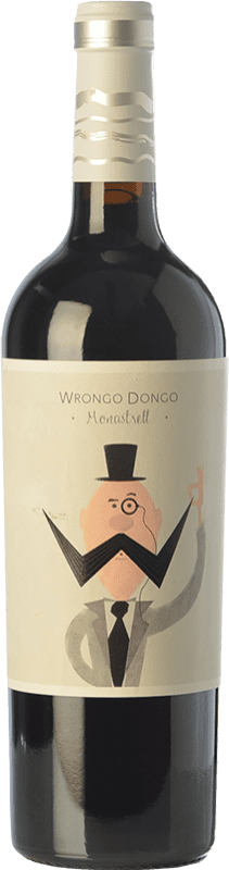 5,95 € Free Shipping | Red wine Volver Wrongo Dongo Joven D.O. Jumilla Castilla la Mancha Spain Monastrell Bottle 75 cl