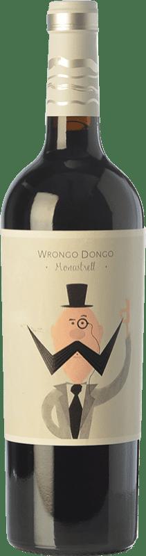 5,95 € Envoi gratuit | Vin rouge Volver Wrongo Dongo Joven D.O. Jumilla Castilla La Mancha Espagne Monastrell Bouteille 75 cl