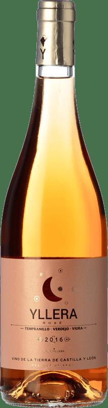 5,95 € Envío gratis | Vino rosado Yllera Rosé I.G.P. Vino de la Tierra de Castilla y León Castilla y León España Tempranillo, Verdejo Botella 75 cl