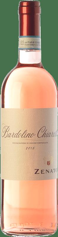 7,95 € Free Shipping | Rosé wine Zenato Chiaretto D.O.C. Bardolino Veneto Italy Merlot, Corvina, Rondinella Bottle 75 cl