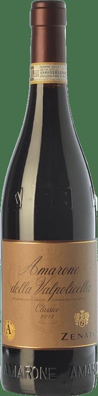 49,95 € Free Shipping | Red wine Zenato Classico D.O.C.G. Amarone della Valpolicella Veneto Italy Corvina, Rondinella, Oseleta Bottle 75 cl