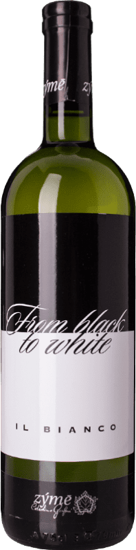 17,95 € Free Shipping   White wine Zýmē From Black to White I.G.T. Veneto Veneto Italy Gewürztraminer, Incroccio Manzoni, Kerner, Rondinella White Bottle 75 cl