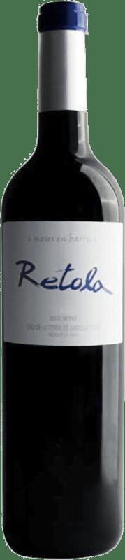 6,95 € | Red wine Thesaurus Retola 12 Meses Crianza I.G.P. Vino de la Tierra de Castilla y León Castilla y León Spain Tempranillo Bottle 75 cl