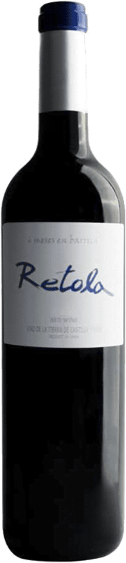 6,95 € 免费送货 | 红酒 Thesaurus Retola 12 Meses Crianza I.G.P. Vino de la Tierra de Castilla y León 卡斯蒂利亚莱昂 西班牙 Tempranillo 瓶子 75 cl