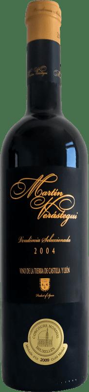 红酒 Thesaurus Martín Verástegui 18 Meses Vendimia Seleccionada Reserva 2006 I.G.P. Vino de la Tierra de Castilla y León 卡斯蒂利亚莱昂 西班牙 Tempranillo, Grenache 瓶子 75 cl