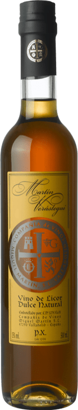 Thesaurus Martín Verástegui Pedro Ximénez Vino de la Tierra de Castilla y León 50 cl