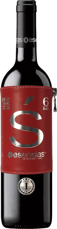 13,95 € Kostenloser Versand | Rotwein Esencias «s» Premium Edition 6 Meses Crianza I.G.P. Vino de la Tierra de Castilla y León Kastilien und León Spanien Tempranillo Flasche 75 cl