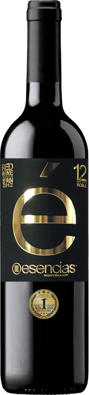 19,95 € | Red wine Esencias «é» 12 Meses Crianza 2012 I.G.P. Vino de la Tierra de Castilla y León Castilla y León Spain Tempranillo Bottle 75 cl