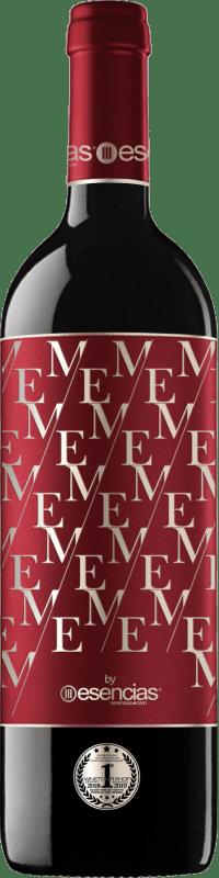 Envío gratis | Vino tinto Esencias ME&Red Crianza I.G.P. Vino de la Tierra de Castilla y León Castilla y León España Tempranillo Botella 75 cl