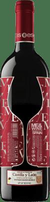 Vinho tinto Esencias ME&Red Crianza I.G.P. Vino de la Tierra de Castilla y León Castela e Leão Espanha Tempranillo Garrafa 75 cl
