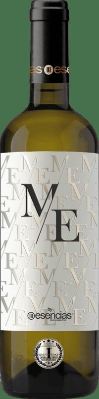 Spedizione Gratuita | Vino bianco Esencias ME&White I.G.P. Vino de la Tierra de Castilla y León Spagna Verdejo Bottiglia 75 cl