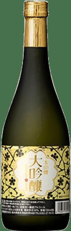33,95 € Free Shipping   Sake Choya Daiginjo Honjirushi Sakura Bottle 70 cl