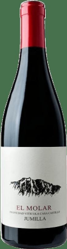 14,95 € Free Shipping | Red wine Casa Castillo El Molar D.O. Jumilla Spain Grenache Bottle 75 cl