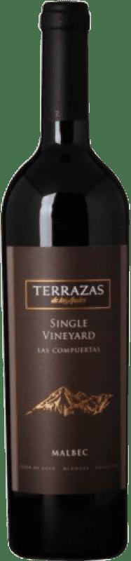 49,95 € Free Shipping   Red wine Terrazas de los Andes Single Vineyard Las Compuertas Argentina Malbec Bottle 75 cl
