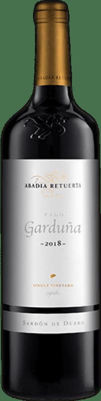 163,95 € Free Shipping   Red wine Abadía Retuerta Pago Garduña I.G.P. Vino de la Tierra de Castilla y León Castilla y León Spain Syrah Magnum Bottle 1,5 L