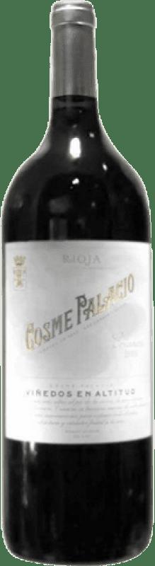26,95 € Free Shipping | Red wine Palacio Cosme Palacio D.O.Ca. Rioja The Rioja Spain Tempranillo Magnum Bottle 1,5 L