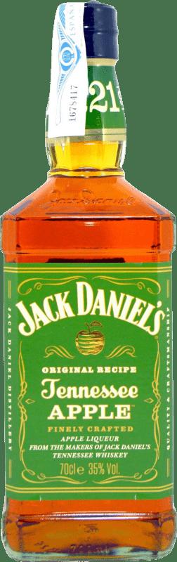 22,95 € Free Shipping | Bourbon Jack Daniel's Apple Bottle 75 cl