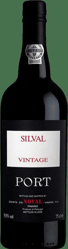 74,95 € Free Shipping | Fortified wine Quinta do Noval Vintage Port Silval I.G. Porto Porto Portugal Bottle 75 cl