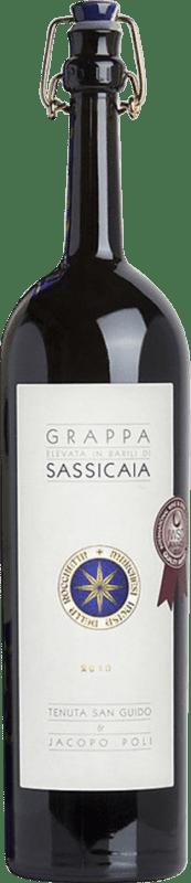 74,95 € Free Shipping   Grappa Poli Sassicaia 5 Años Barrica Bottle 70 cl