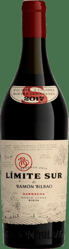 21,95 € Free Shipping | Red wine Ramón Bilbao Límite Sur D.O.Ca. Rioja The Rioja Spain Grenache Bottle 75 cl