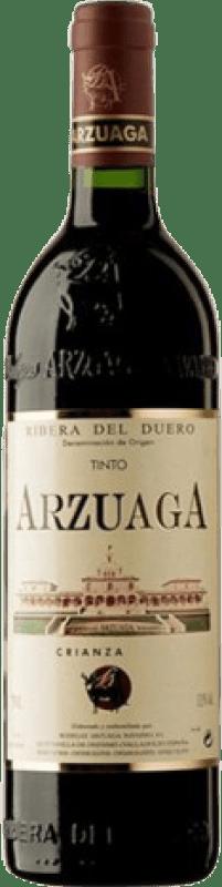 12,95 € Free Shipping | Red wine Arzuaga Crianza D.O. Ribera del Duero Castilla y León Spain Tempranillo, Merlot, Cabernet Sauvignon Half Bottle 37 cl