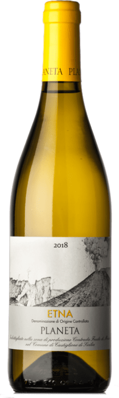 17,95 € Free Shipping   White wine Planeta Bianco D.O.C. Etna Italy Carricante Bottle 75 cl
