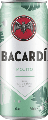 28,95 € Free Shipping   12 units box Soft Drinks & Mixers Bacardí Mojito Cocktail Lata 25 cl