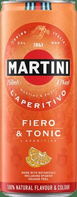 28,95 € Free Shipping   12 units box Soft Drinks & Mixers Martini Fiero & Tonic Cocktail Lata 25 cl