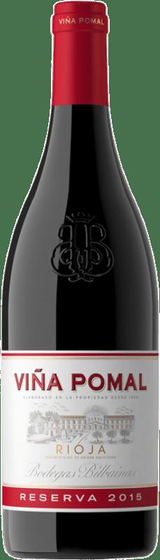 32,95 € 免费送货 | 红酒 Bodegas Bilbaínas Viña Pomal Reserva D.O.Ca. Rioja 拉里奥哈 西班牙 Tempranillo 瓶子 Magnum 1,5 L