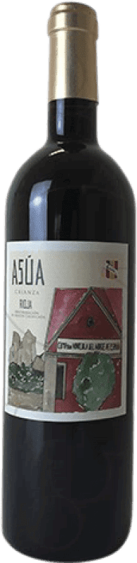 9,95 € Free Shipping | Red wine Norte de España - CVNE Asua Crianza D.O.Ca. Rioja The Rioja Spain Tempranillo, Grenache, Graciano, Mazuelo, Carignan Bottle 75 cl