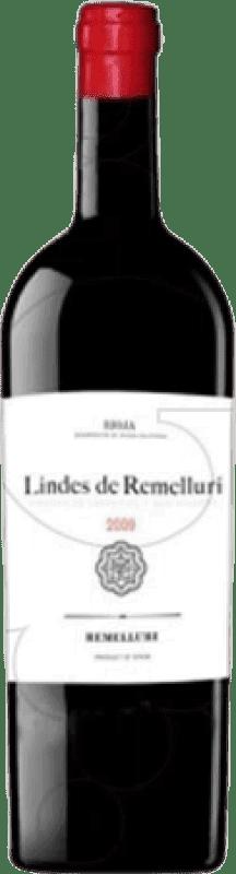 29,95 € 免费送货 | 红酒 Ntra. Sra de Remelluri Lindes S.Vicente Crianza D.O.Ca. Rioja 拉里奥哈 西班牙 Tempranillo, Grenache, Graciano 瓶子 Magnum 1,5 L