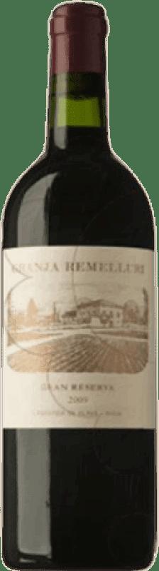 111,95 € Envío gratis | Vino tinto Ntra. Sra de Remelluri La Granja Gran Reserva 2009 D.O.Ca. Rioja La Rioja España Tempranillo, Garnacha, Graciano Botella Mágnum 1,5 L