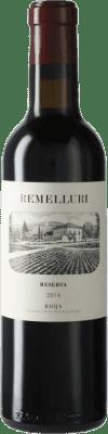 11,95 € 免费送货 | 红酒 Ntra. Sra de Remelluri Reserva D.O.Ca. Rioja 拉里奥哈 西班牙 Tempranillo, Grenache, Graciano 半瓶 37 cl